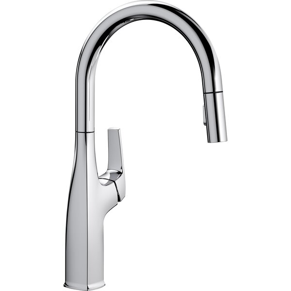 Rivana Pull Down Single Handle Kitchen Faucet by Blanco Blanco