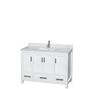 Look for Sheffield 48 Single Bathroom Vanity Set ByWyndham Collection