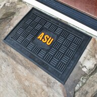 NCAA Arizona State University Medallion Door Mat by FANMATS