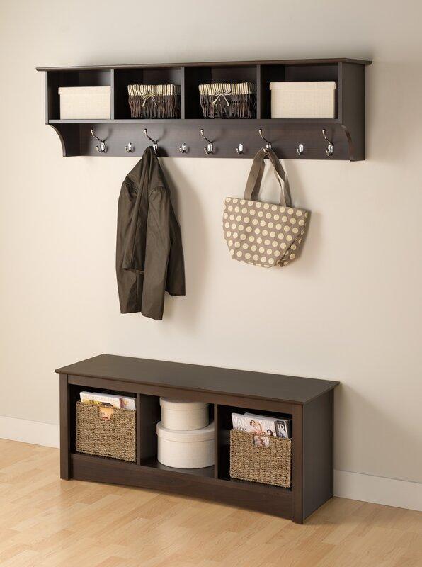 Foyer Hanging Storage : Zipcode design mackenzie quot hanging entryway hook