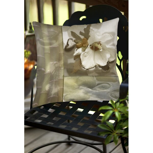 Natural Elements 2 Indoor/Outdoor Throw Pillow by Manual Woodworkers & Weavers