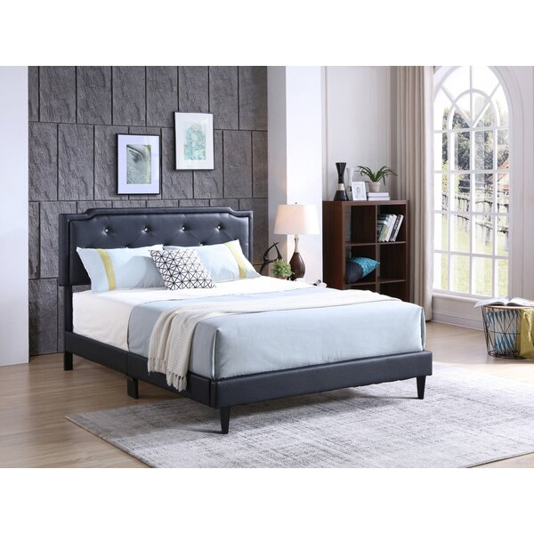 Edna Upholstered Standard Bed by Zoomie Kids