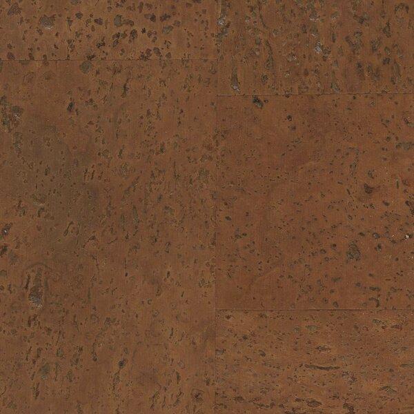 12 Cork Hardwood Flooring in Artemis Brown by APC Cork