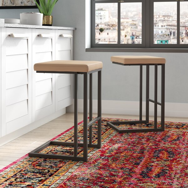 Calistoga Counter 25.75 Bar Stool (Set of 2) by Trent Austin Design