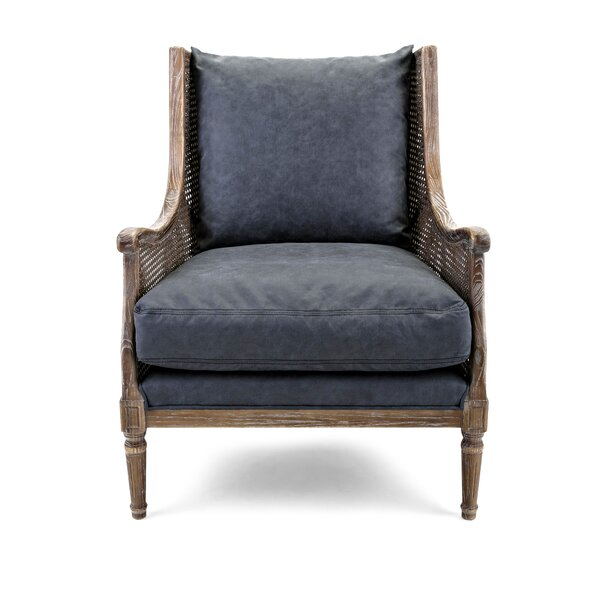 Peck Wingback Chair by One Allium Way