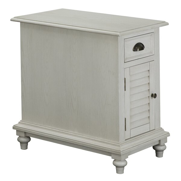 Damien End Table With Storage By August Grove