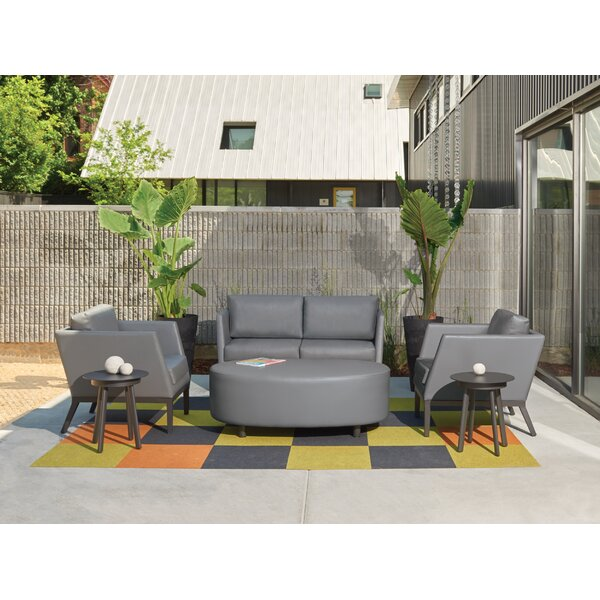 Mandeville 6 Piece Sofa Seating Group with Cushions by Beachcrest Home Beachcrest Home