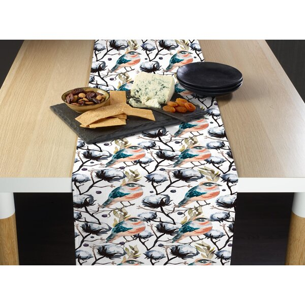 Dayanara Pretty Bird Table Runner by August Grove