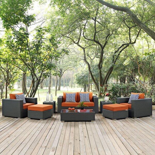 Tripp 8 Piece Sunbrella Sofa Set with Cushions by Brayden Studio
