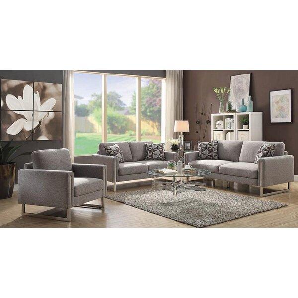 Stage 3 Piece Living Room Set by Orren Ellis
