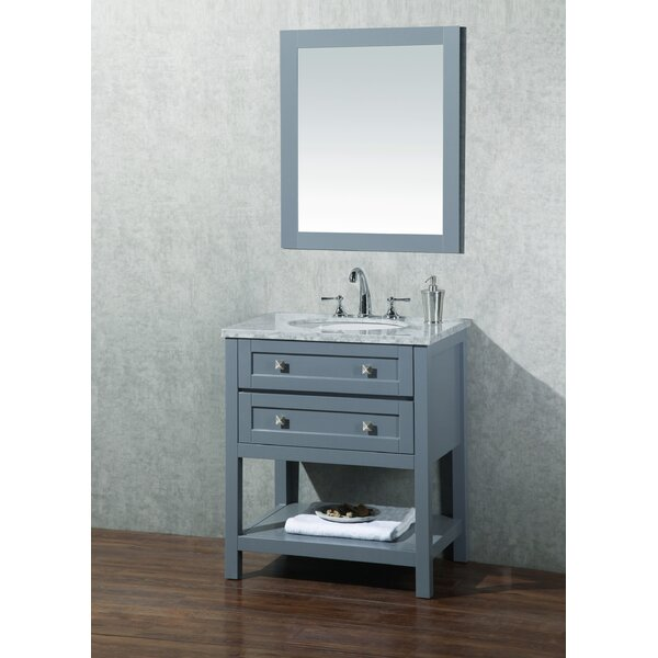 Whaley 30 Single Bathroom Vanity Set with Mirror by Brayden Studio