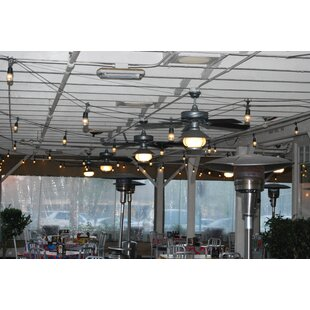 Best Choices European Cafe 7-Light Globe String Lights By String Light Company