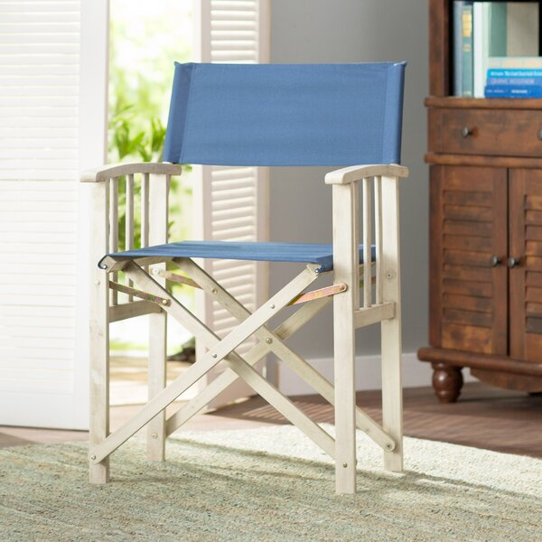 Ines Folding Patio Dining Chair (Set of 2) by Beachcrest Home