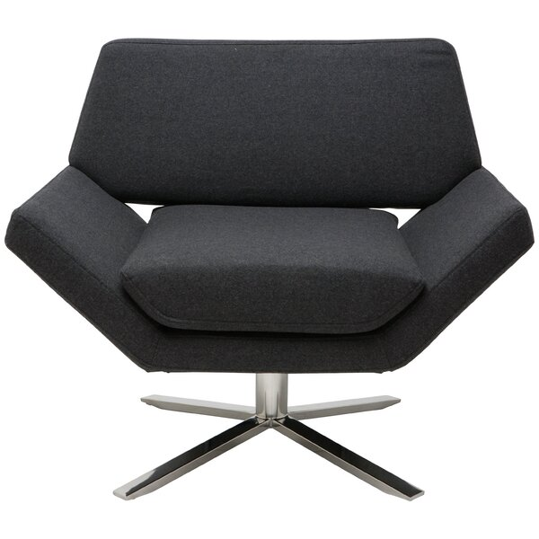 Sly Swivel Lounge Chair by Nuevo