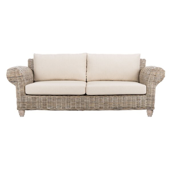 Roxanne Loveseat with Cushions by Highland Dunes