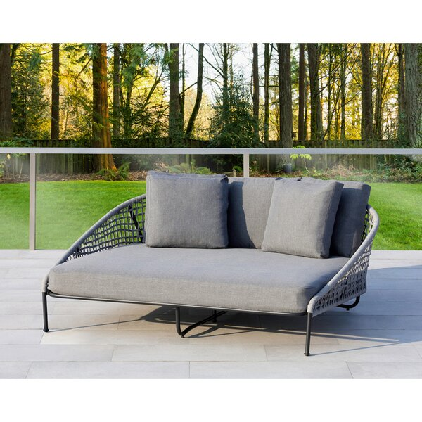 Indiana Loveseat with Sunbrella Cushions by Ove Decors