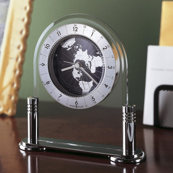 Discoverer Alarm Clock by Howard Miller®Discoverer Alarm Clock by Howard Miller®