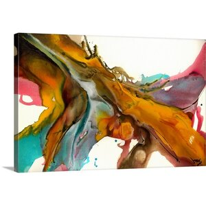 'Confluence' Gallery Painting Print on Wrapped Canvas by Mercury Row