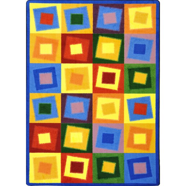 Square off Balance Bright Area Rug by The Conestoga Trading Co.