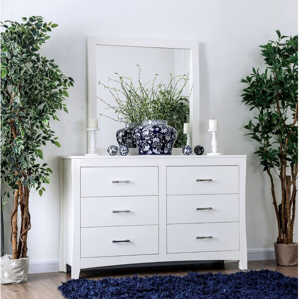 Milian 6 Drawer Dresser by Latitude Run