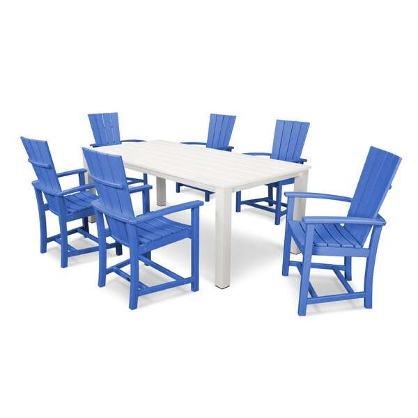 Quattro 7 Piece Dining Set By POLYWOOD®
