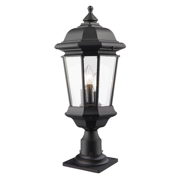 Bibb 3-Light Pier Mount Light by Fleur De Lis Living