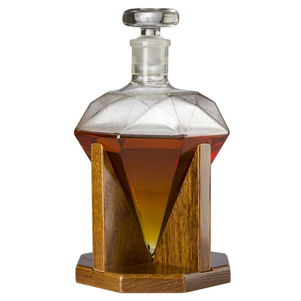 Jaden Diamond 25 oz. Decanter by Ebern Designs