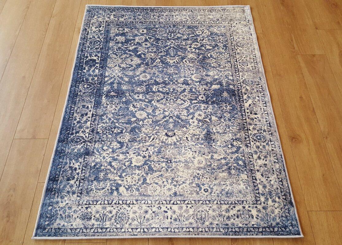 barefoot artsilk rugs afghan duck egg area rug & reviews | wayfair