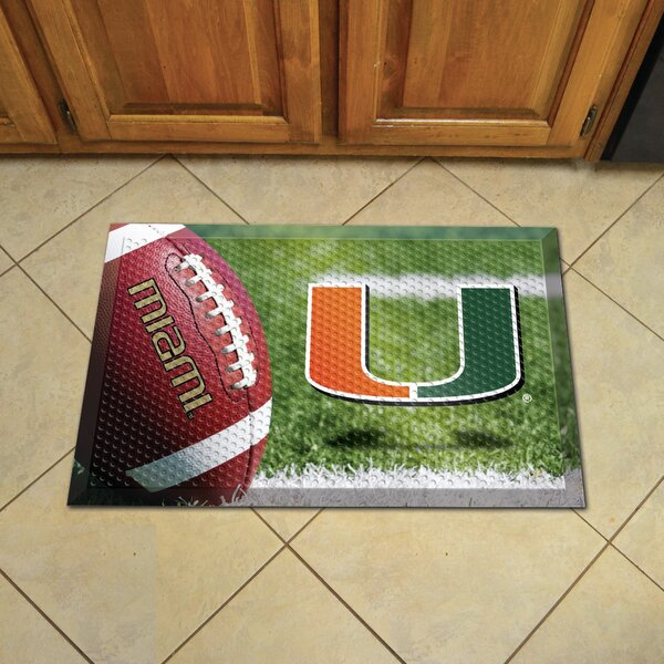 University of Miami Doormat by FANMATS