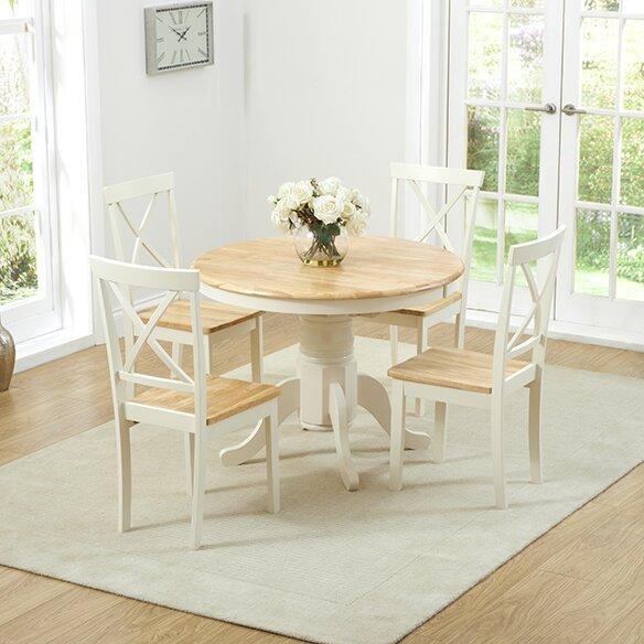 k stenhaus essgruppe bartett mit ausziehbarem tisch und 4 st hlen bewertungen. Black Bedroom Furniture Sets. Home Design Ideas