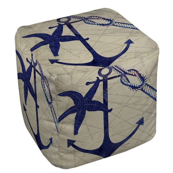 Ridgeview Cube Ottoman by Beachcrest Home