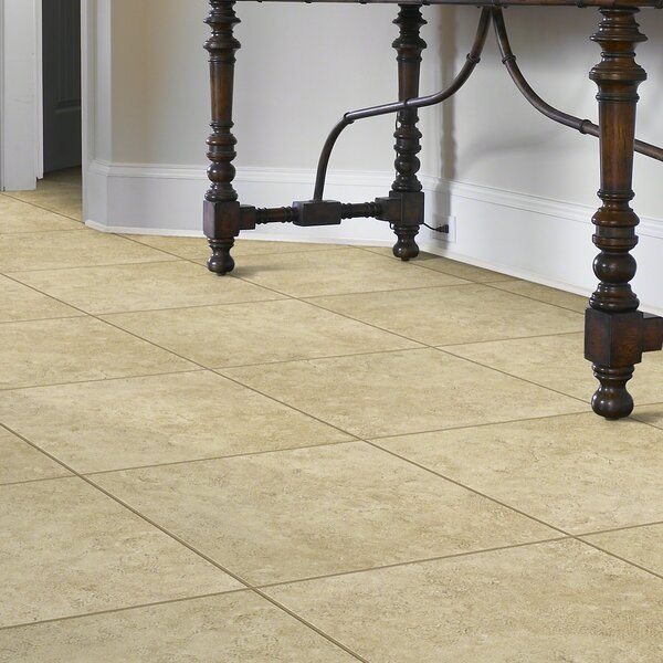 Delight 17 x 17 Ceramic Field Tile in Herby by Shaw Floors