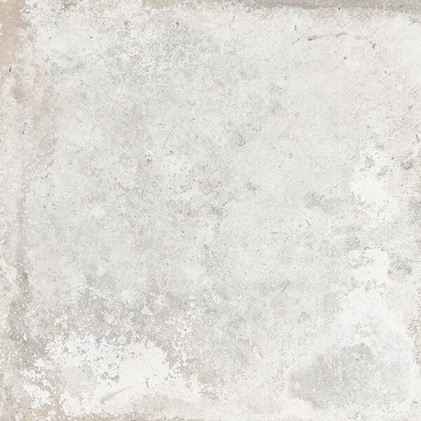 Cement Series 24 x 24 Porcelain Field Tile in White by RD-TILE