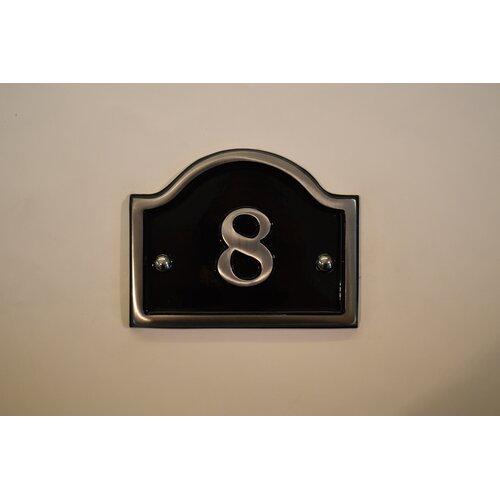 30|5 cm Wandbefestigte Hausnummer Jaclynn Garten Living Number: 8 | Lampen > Aussenlampen > Hausnummern | Garten Living