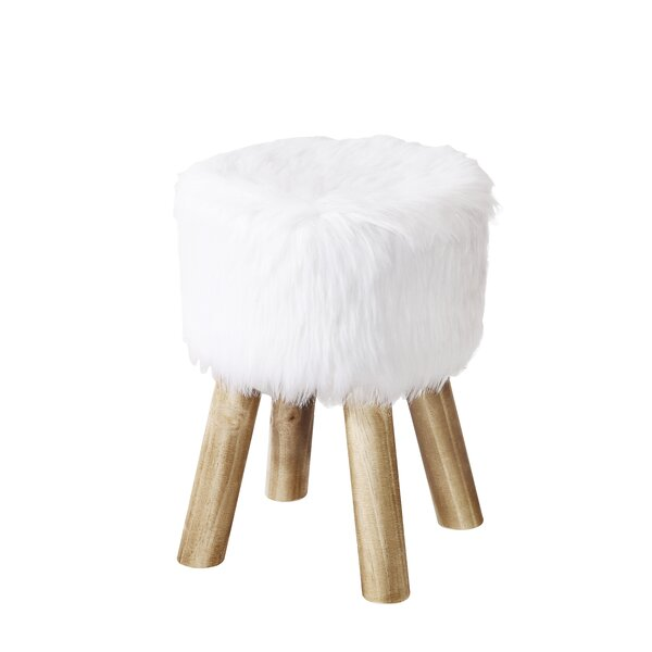 Fossum Accent Stool by Bungalow Rose