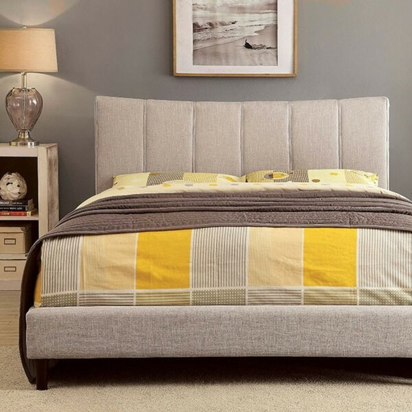Inessa Upholstered Platform Bed by Wrought Studio