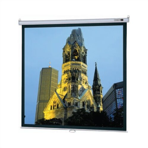 Model B Matte White Manual Projection Screen by Da-Lite