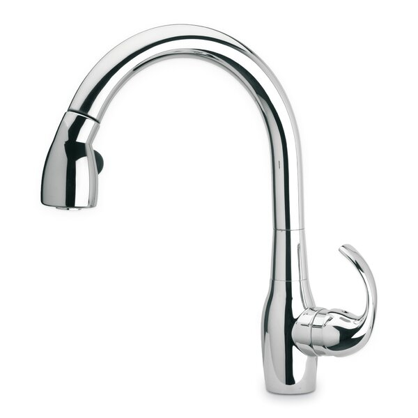 Petrarca Pull Down Touch Single Handle Kitchen Faucet by LaToscana