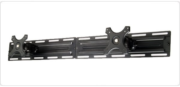 Dual LCD Rail Bracket Screens Wall Mount up to 28 Screens by MonMount