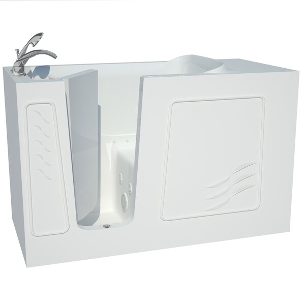 Captains Series 60 x 30 Dual Whirlpool & Air Bathtub by Therapeutic Tubs