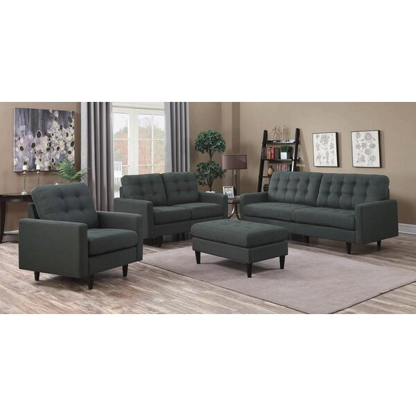 Fabrizio 4 Piece Living Room Set By George Oliver Best Choices