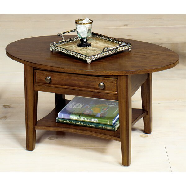 Solid Wood Coffee Table With Storage By Wildon Home®