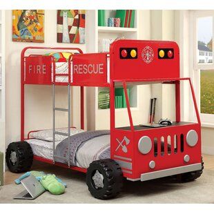 Fire Truck Bunk Bed Wayfair