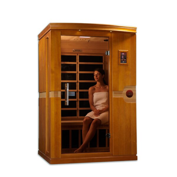 Venice 2 Person FAR Infrared Sauna by Dynamic Infrared
