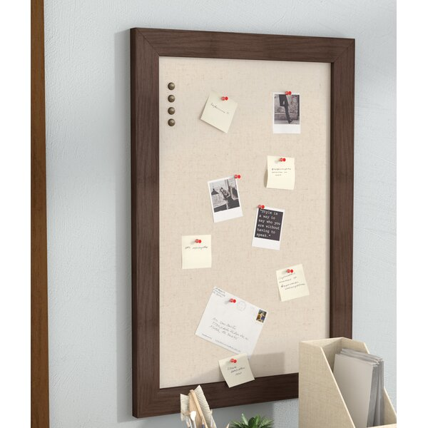 Framed Wall Mounted Bulletin Board by Union Rustic