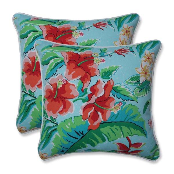Arya Indoor/Outdoor Throw Pillow (Set of 2)