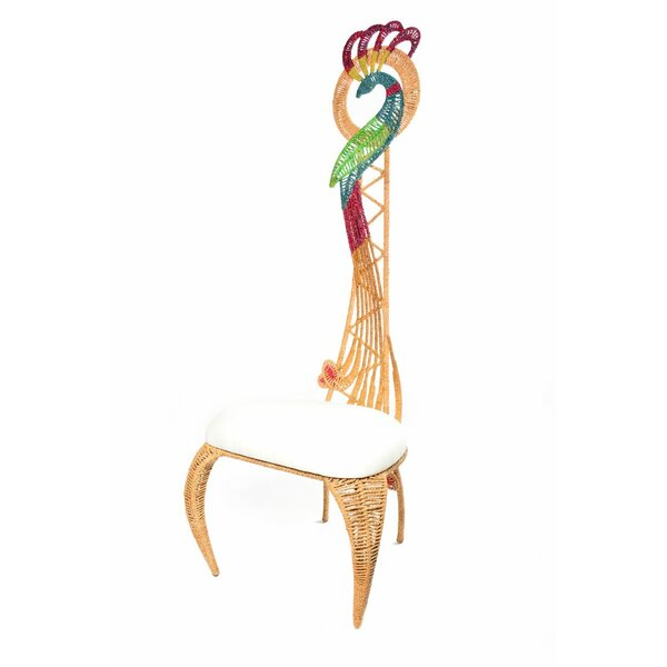 Macalla Slipper Chair by Bay Isle Home