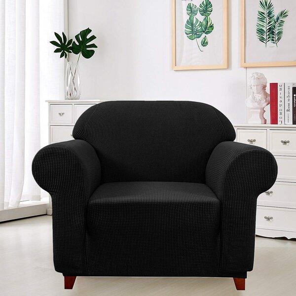 Elegant Box Cushion Armchair Slipcover By Winston Porter