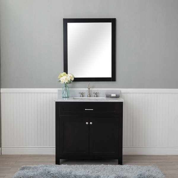 Costin 36 Single Bathroom Vanity Set with Mirror by Red Barrel Studio