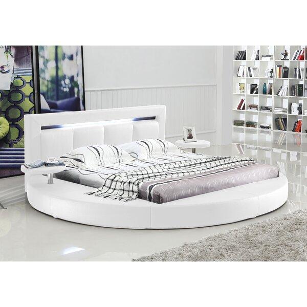 Ohan Upholstered Sleigh Bed by Orren Ellis